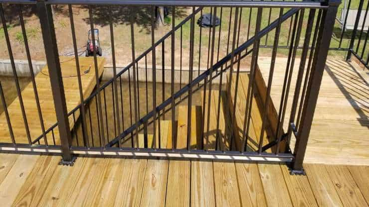 Deck Stair Railings